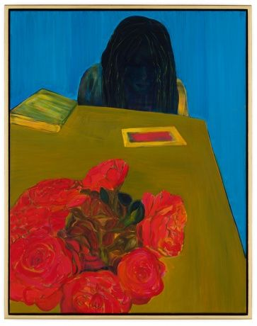 """caro niederer's """"lesen (reading)"""", 2001."""