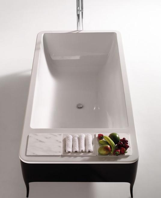Bath Design U0026 Décor: Ceramic Bathtubs   An Infusion Of Modern U0026 Classic.