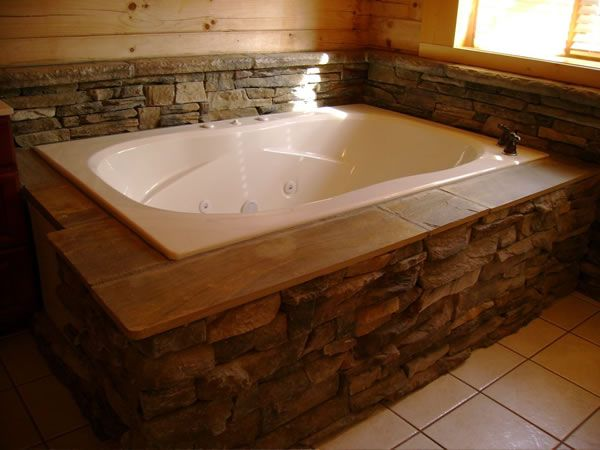 Stone jacuzzi tubs google search bathroom ideas pinterest jacuzzi tub jacuzzi and tubs - Bathrooms with jacuzzi designs ...