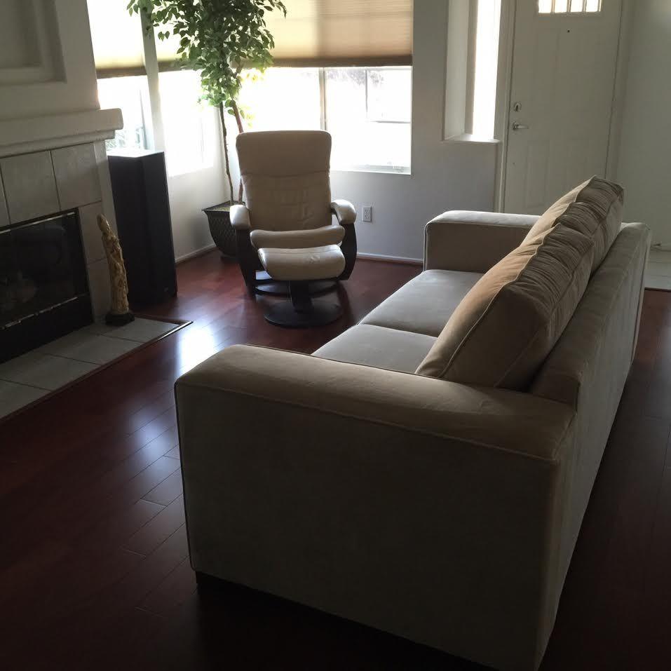 Sofa Modern Company | Natalia Mid Century Modern Dove Grey Sofa