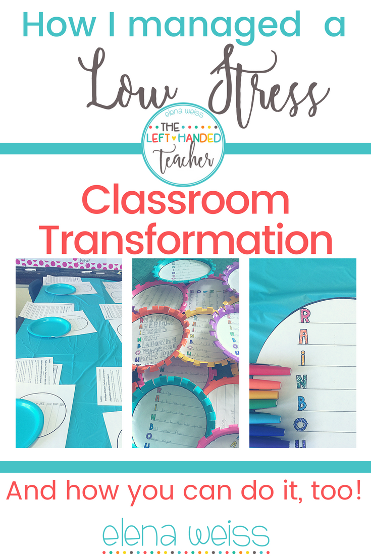 Do Classroom Transformations Stress You Out? Read On | Pinterest ...