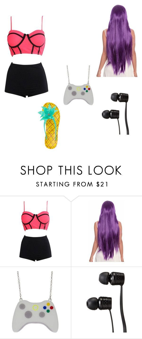 """""""Bea pool day"""" by drum4life2703 ❤ liked on Polyvore featuring WithChic, Vans and Kate Spade"""