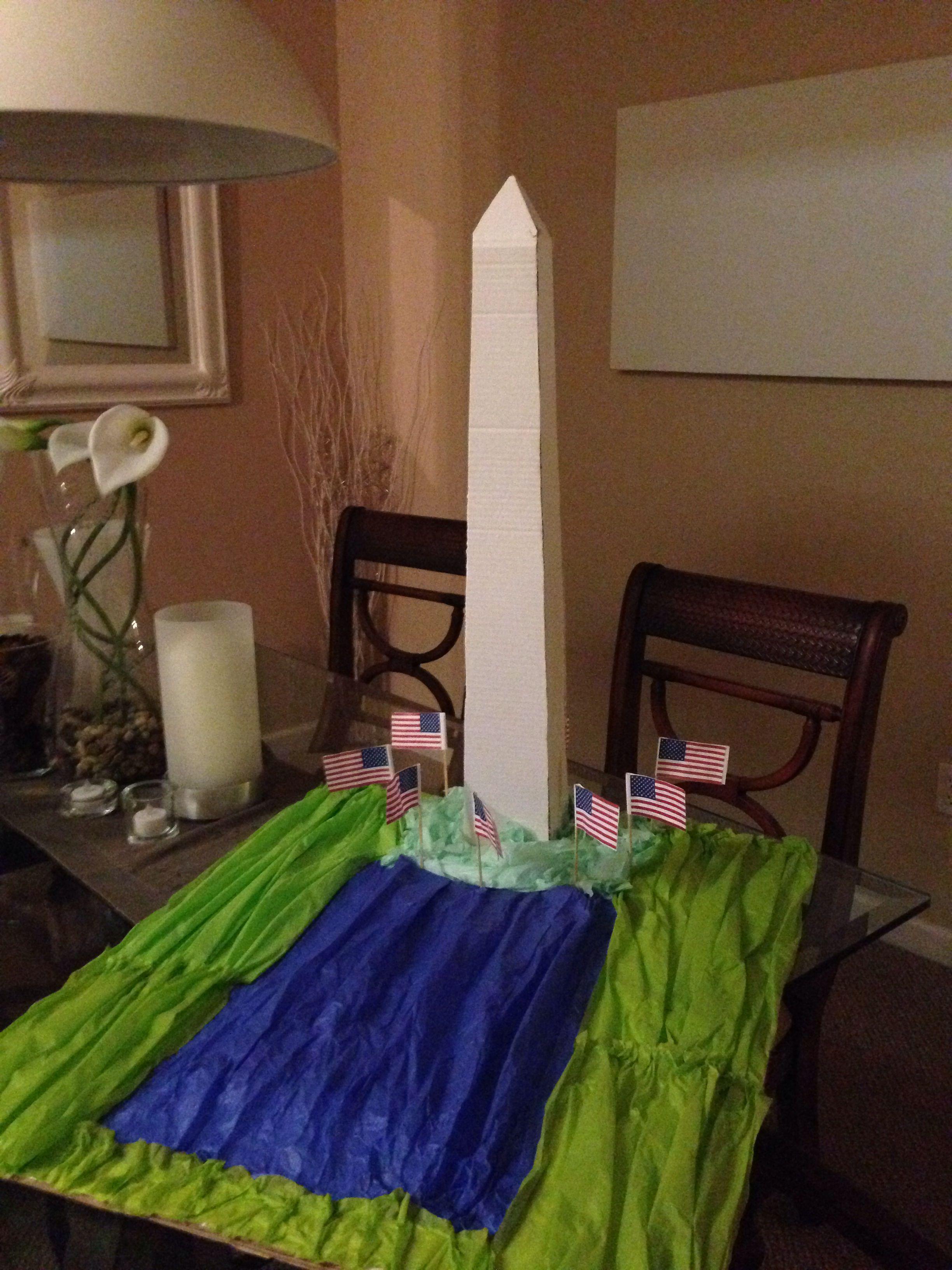 Washington Monument Craft