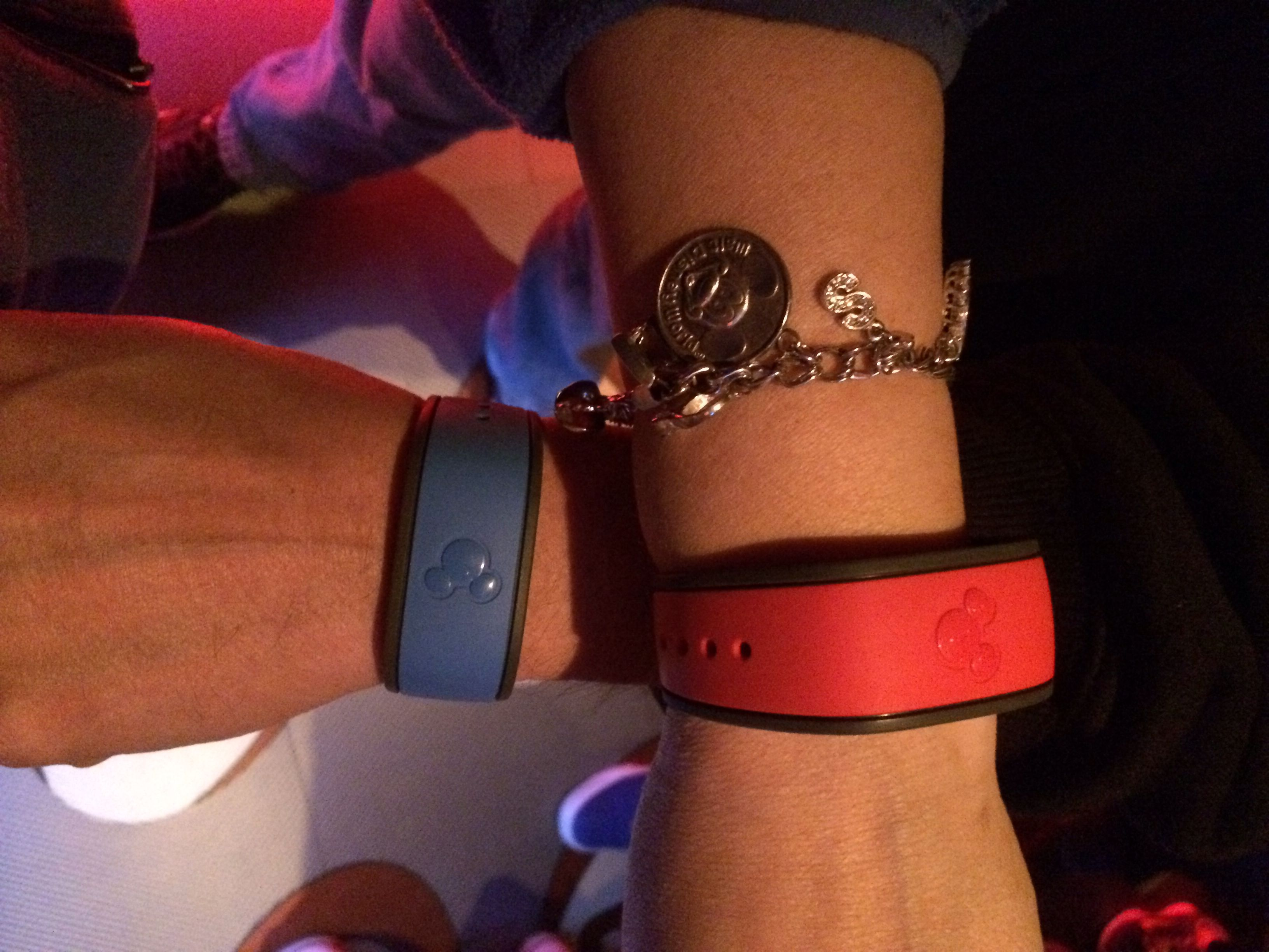 Our Disney magic bands