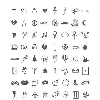 Resultado De Imagen Para Tattoo Symbols Tatuajes Pinterest