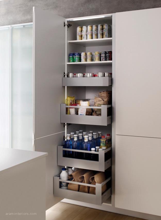 Los prácticos accesorios interiores para muebles de cocina | ARAM ...