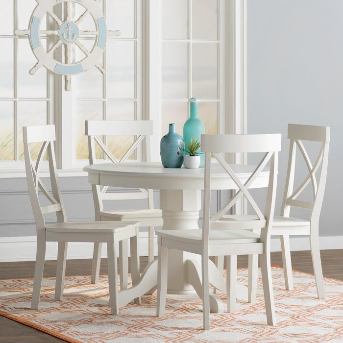 Parkerton 5 Piece Dining Set White Dining Room Sets Dining Room