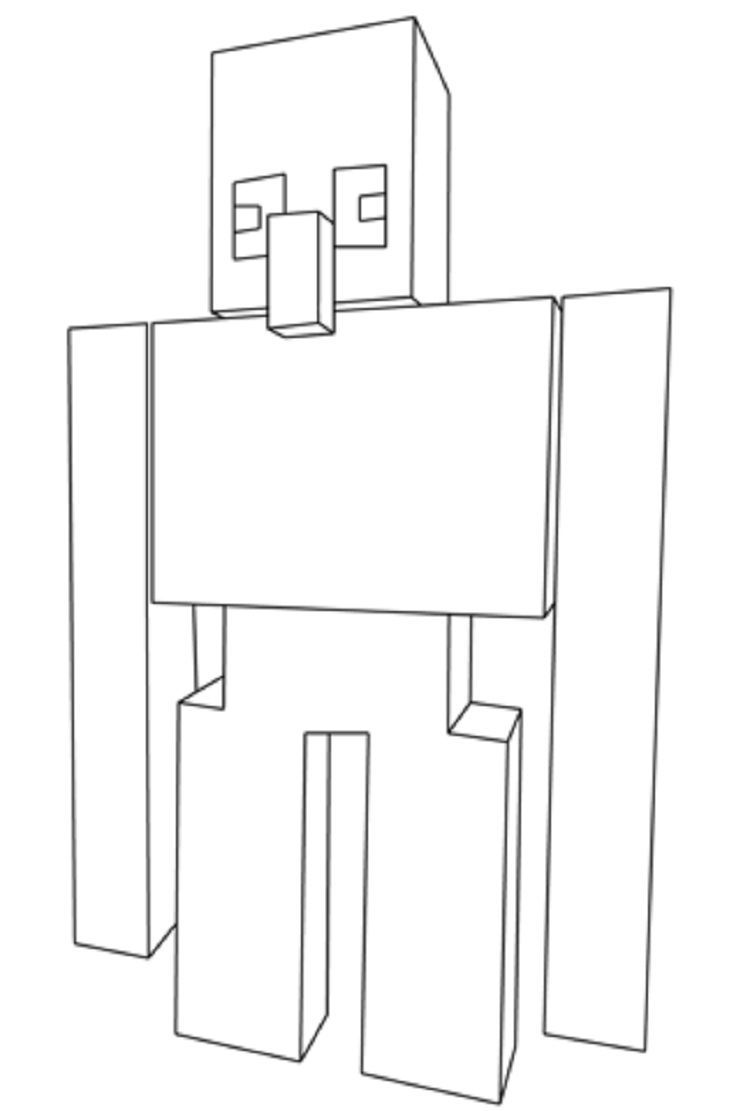 Minecraft Coloring Pages Of Iron Golem Minecraft Coloring Pages Coloring Pages Coloring Pages Winter