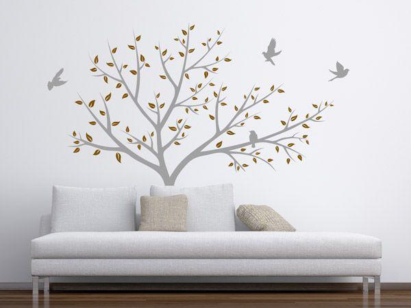 Schlafzimmer Wandtattoo ~ Besten wandtattoo bäume tipps und ideen bilder auf