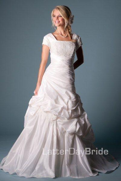 9c3c95ebd558 Leonella - Wedding Dress Front | Wedding dresses | Modest wedding ...