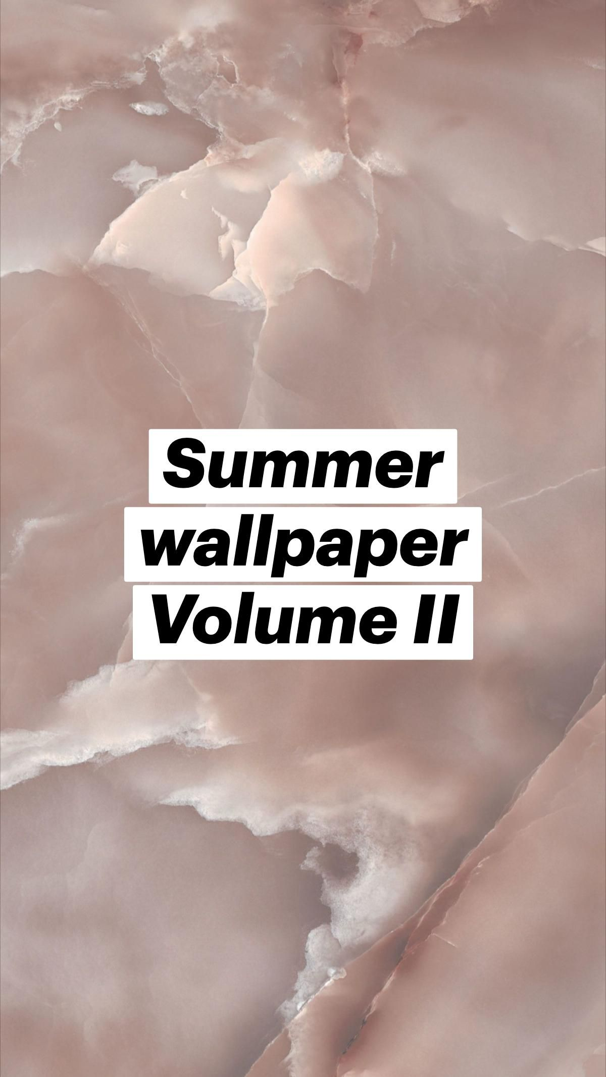 Summer wallpaper Volume II