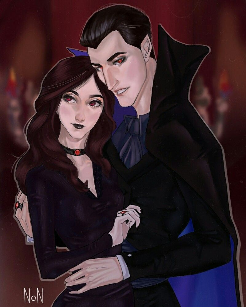 Dracula And Martha Vampire Father Mother Of Mavis