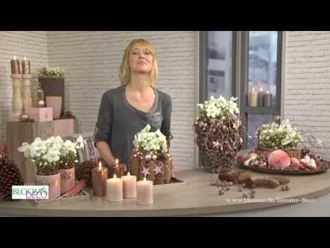 Imke Riedebusch Weihnachtsdeko.Bloom S Diy Videos Dekoideen Mit Blumen Und Pflanzen Schritt Für