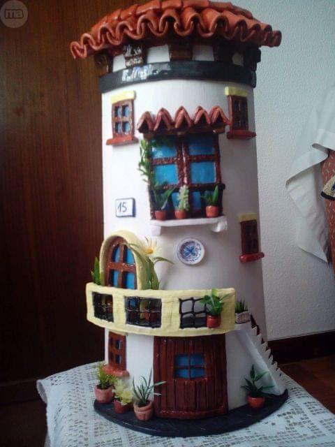Casa y jardin tejas miniature fairy houses casa - Milanuncios com casas ...