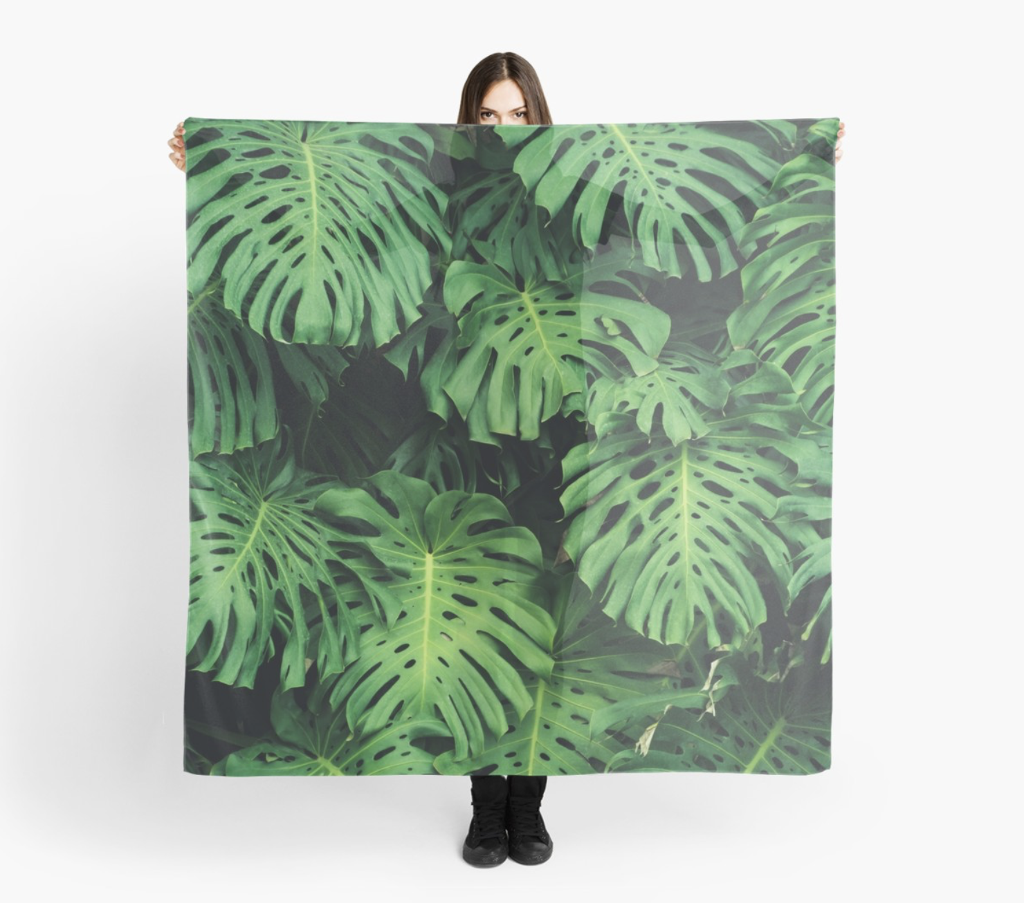 Monstera leaf jungle pattern - Philodendron plant leaves background #junglepattern