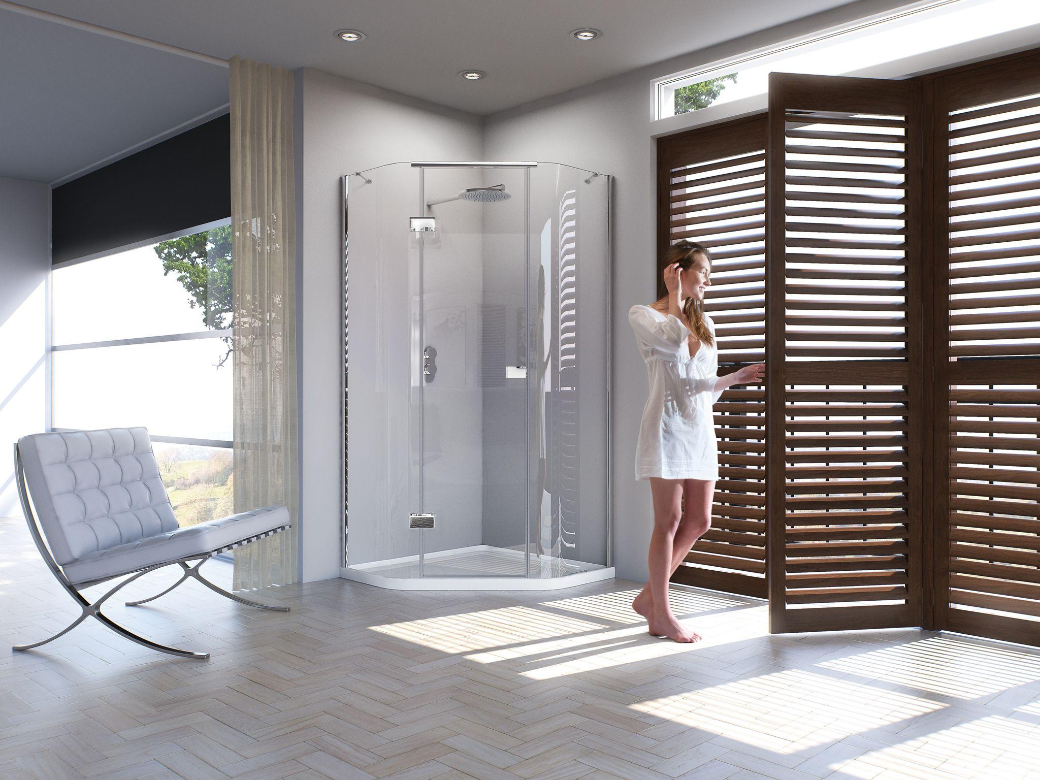 Matki New Illusion Quintesse - luxury shower enclosures | Illusion ...