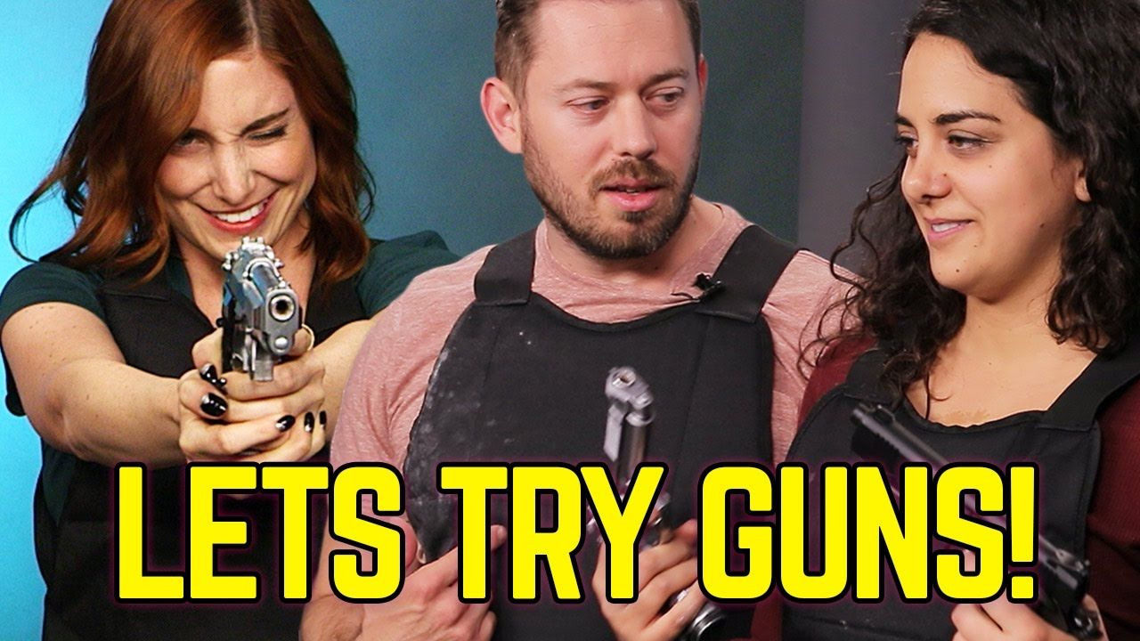 Fun Couple Meme : Couples shoot each other for the first time #humor #funny #lol
