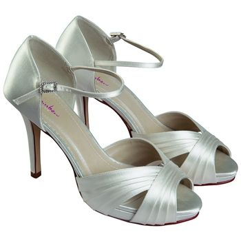 Arabesque Presents The Latest Rainbow Club Dyeable Wedding Bridal Shoes Buy Online With FREE EXPRESS Delivery From UKs Leading Retailer
