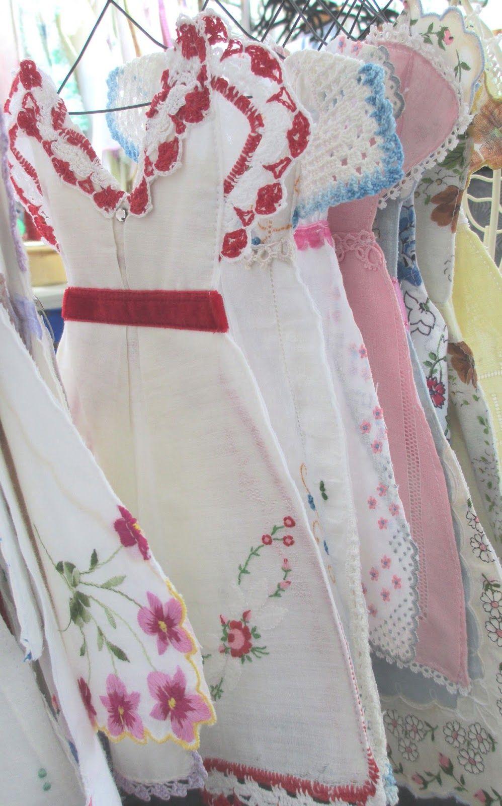 Isa Creative Musingss.blogspot.com Vintage Hankie Dresses ...