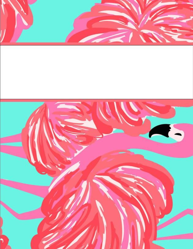 Delicate image inside free printable school binder covers
