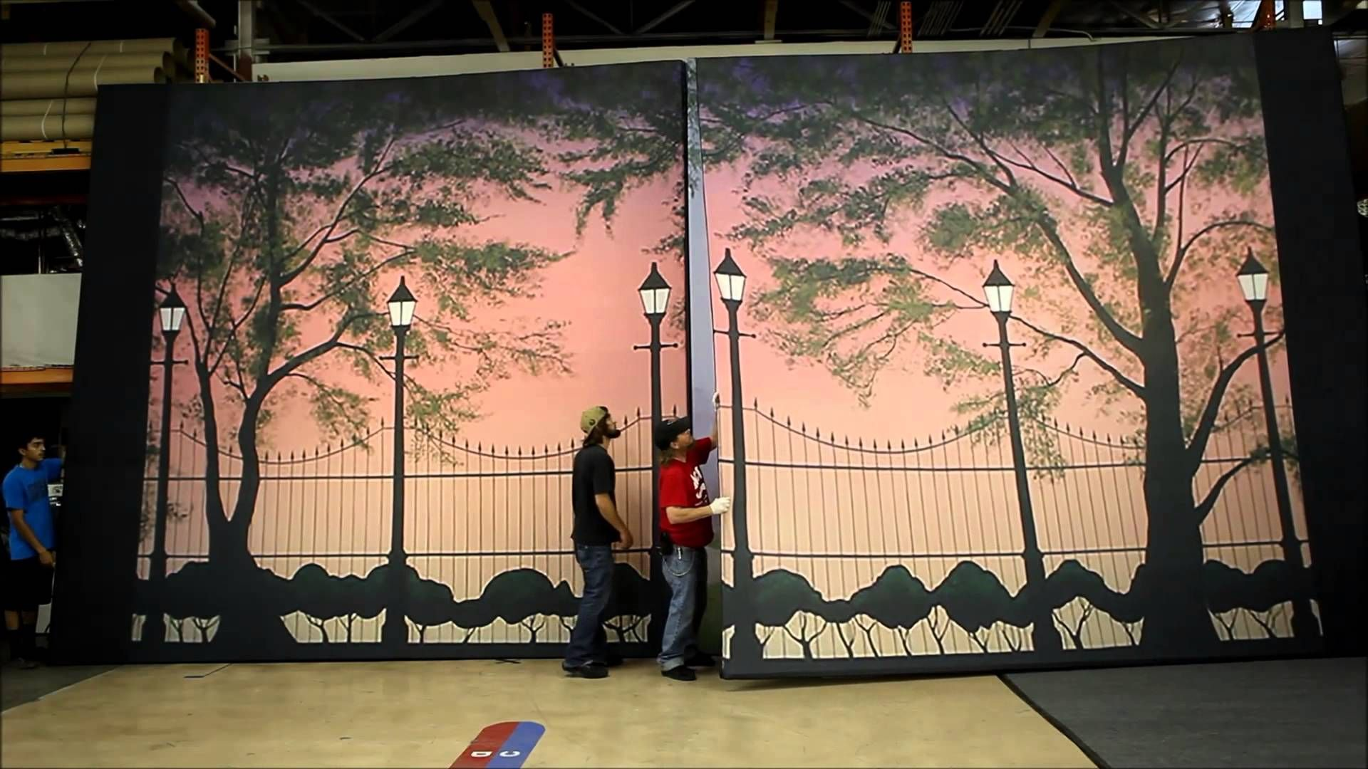 Case Study Mary Popins Stage Backdrops For Ozark