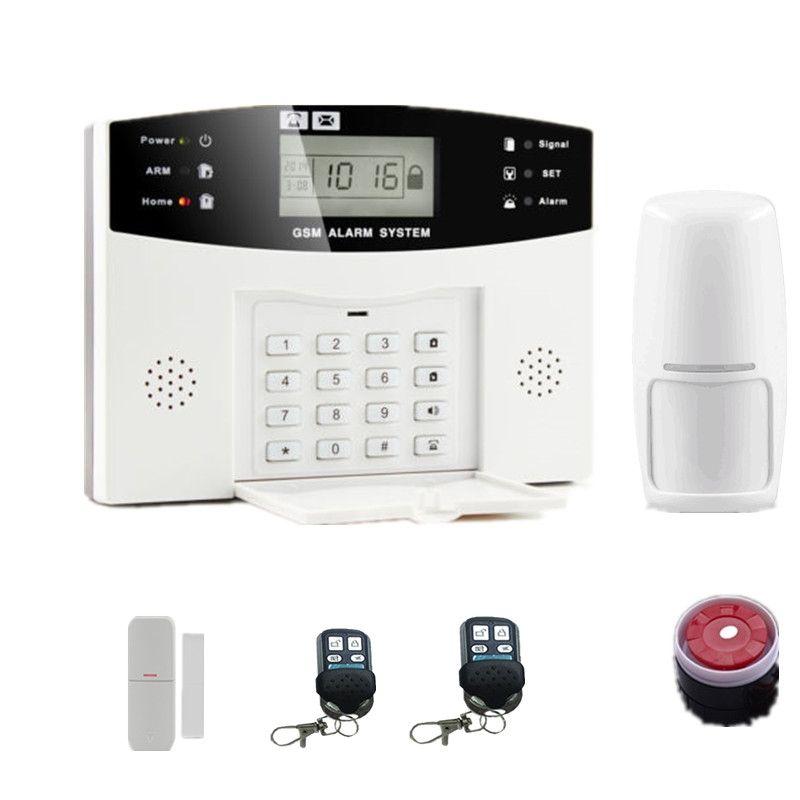 Gsm Alarm System Home Burglar Security Detector Sensor House