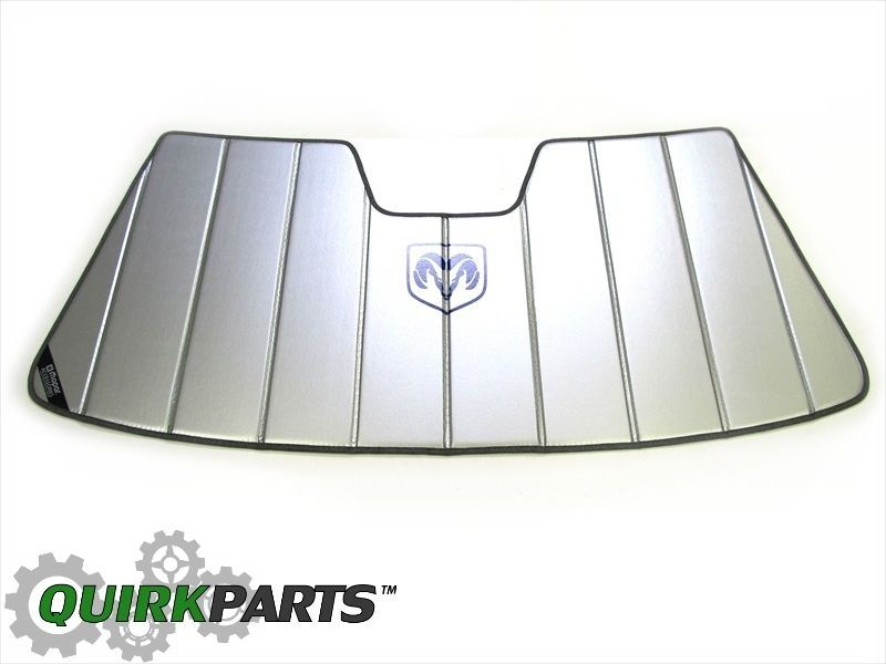 2003-2012 Dodge Ram Windshield Sun Shade Visor NEW MOPAR OEM GENUINE BRAND  NEW  Mopar a0a2acad723