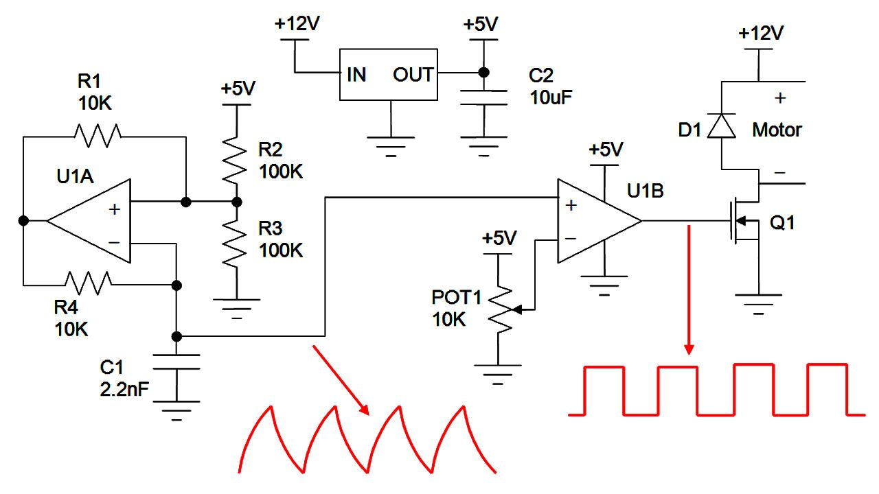 Dc Brush Motor Speed Control Pwm Google Search Electronic 200m Fm Transmitter Circuits And Diagramelectronics Yachts