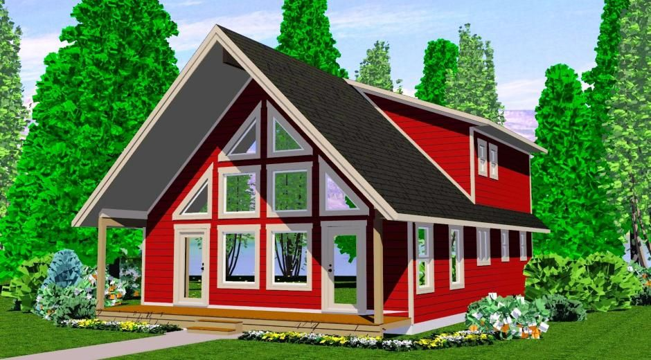 The Vancouver - Prefab Cabin and Cottage Plans | Winton Homes ...
