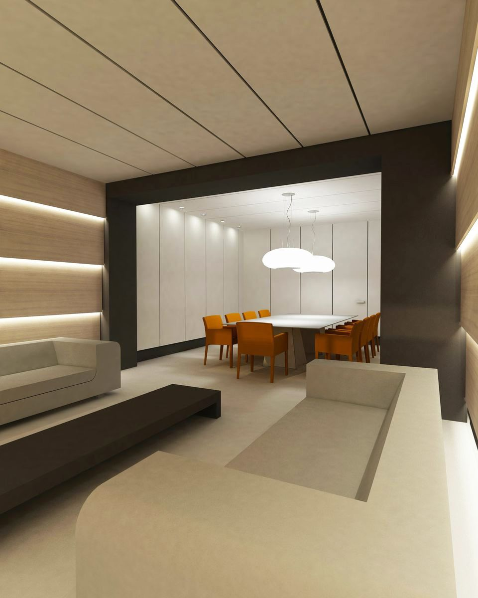 Home Office Decor For Private Impression: Airport VIP Lounge. Design Inzinkestudio