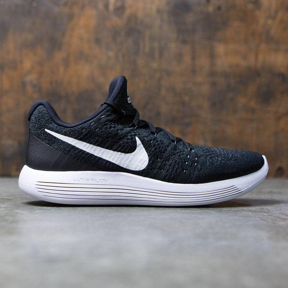8533efa4d7674 Nike Men Lunarepic Low Flyknit 2 Running (black   white-anthracite ...