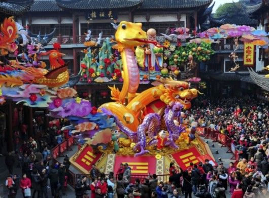 Culture My Special Chinese Lunar New Year Celebrations Around The World Image China Shanghai Cultural Lattern Event