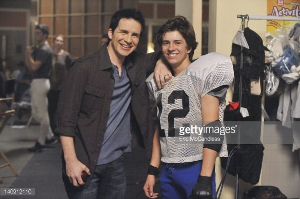 Donald And Chase Father Son Moment Lab Rats Bradley Steven