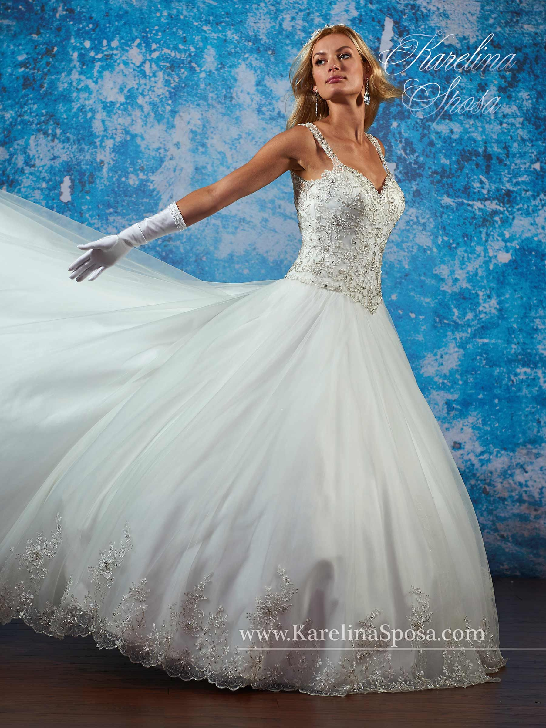 Bridal Gowns - Karelina Sposa - Style: C8077 by Mary\'s Bridal Gowns ...