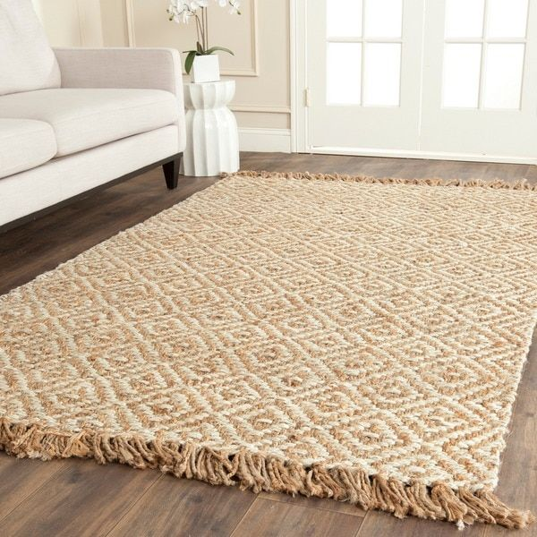 Safavieh Casual Natural Fiber Hand Woven Sisal Style Natural Ivory