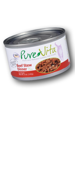 Grain Free Beef Cat Food Pure and Natural Holistic Pet