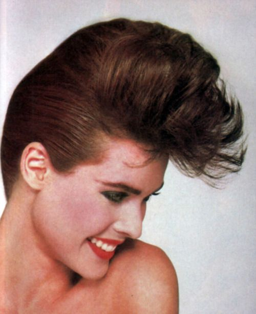 Vidal Sassoon Hair Care, American Vogue, April 1985.