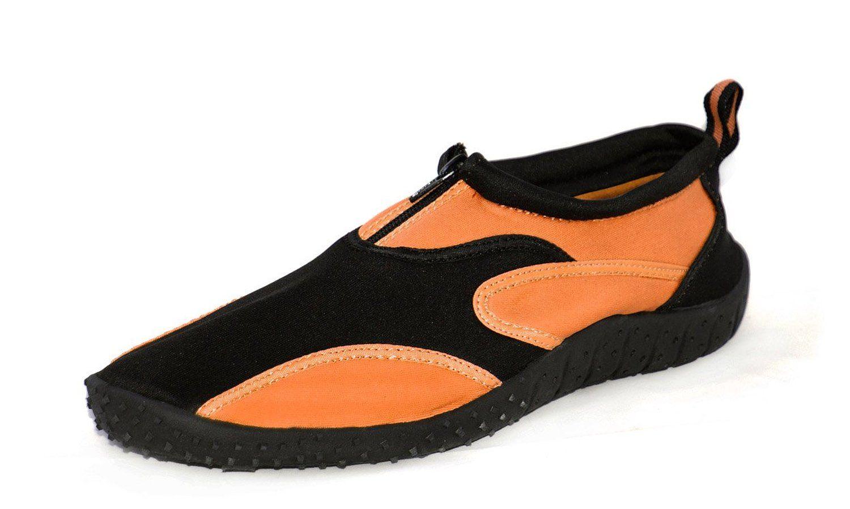6a31e0c1efd4 Amazon.com  Rockin Footwear Mens Rubber Aqua Fire Water Shoes  Shoes ...