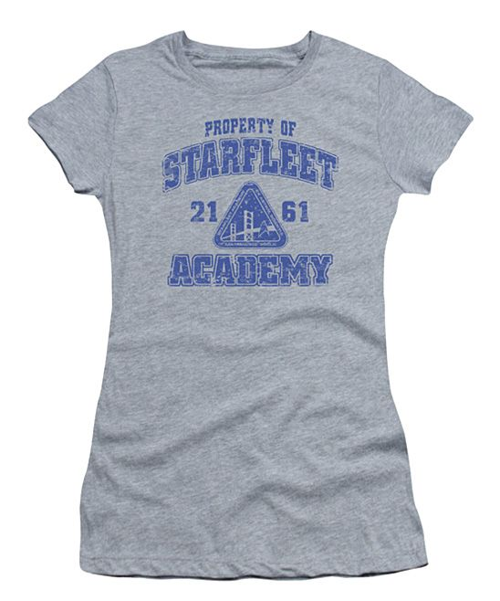 Heather Old School 'Starfleet Academy' Star Trek Tee - Juniors