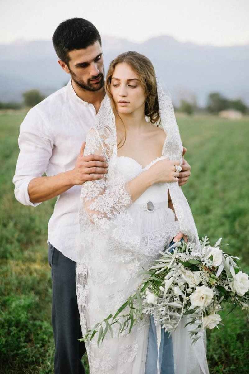 Georgian love - light grey Icidora wedding dress by Milamira Bridal ...