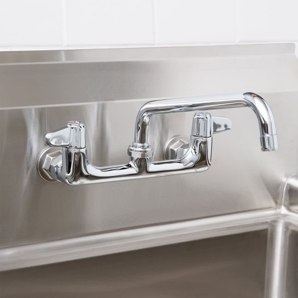 Equip By T S 5f 8wlx10 Wall Mounted Faucet Wall Mount Faucet Faucet Hand Washing Station