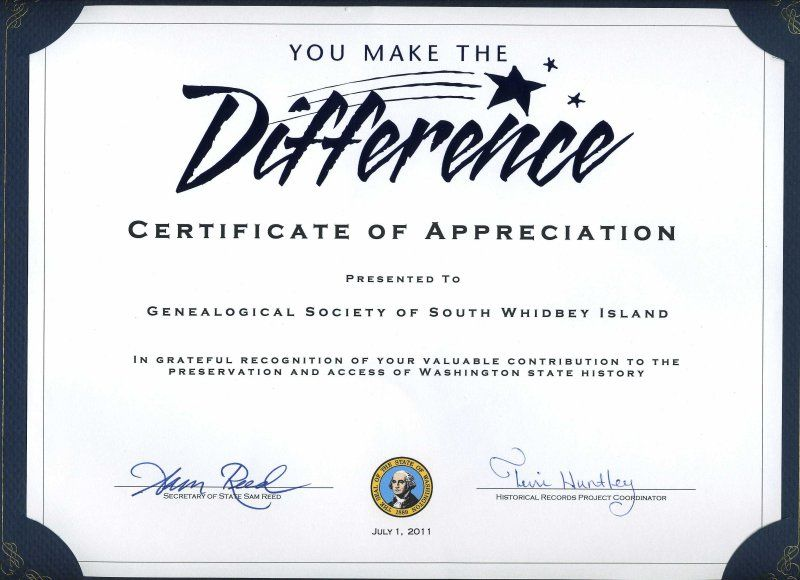 volunteer of the month certificate template