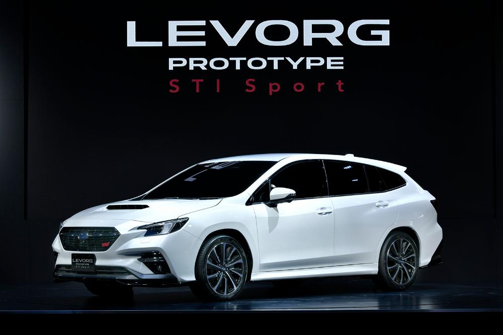 2020 Levorg Prototype Sti Breaks Cover With Subaru First Technologies Carscoops In 2020 Subaru Subaru Levorg Subaru Cars