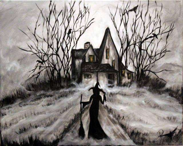 Bruxa com casa