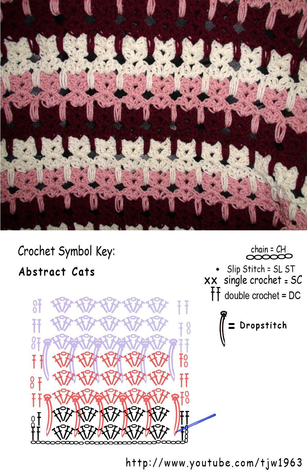 Stitch crochet pattern | crochet | Pinterest | Gato, Ganchillo y ...