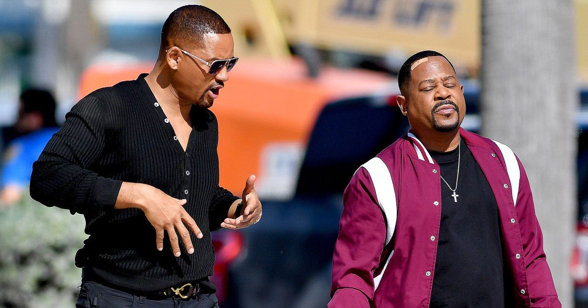 Will Smith Is Ready For Action On Bad Boys For Life Set With Martin Lawrence In Miami Will Smith Martin Lawrence Bad Boys