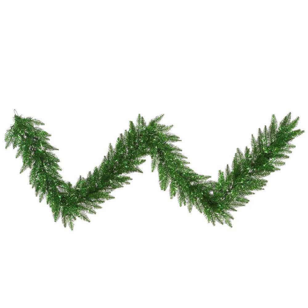 100-Feet by 12-Inch Vickerman Canadian Garland Pine Green
