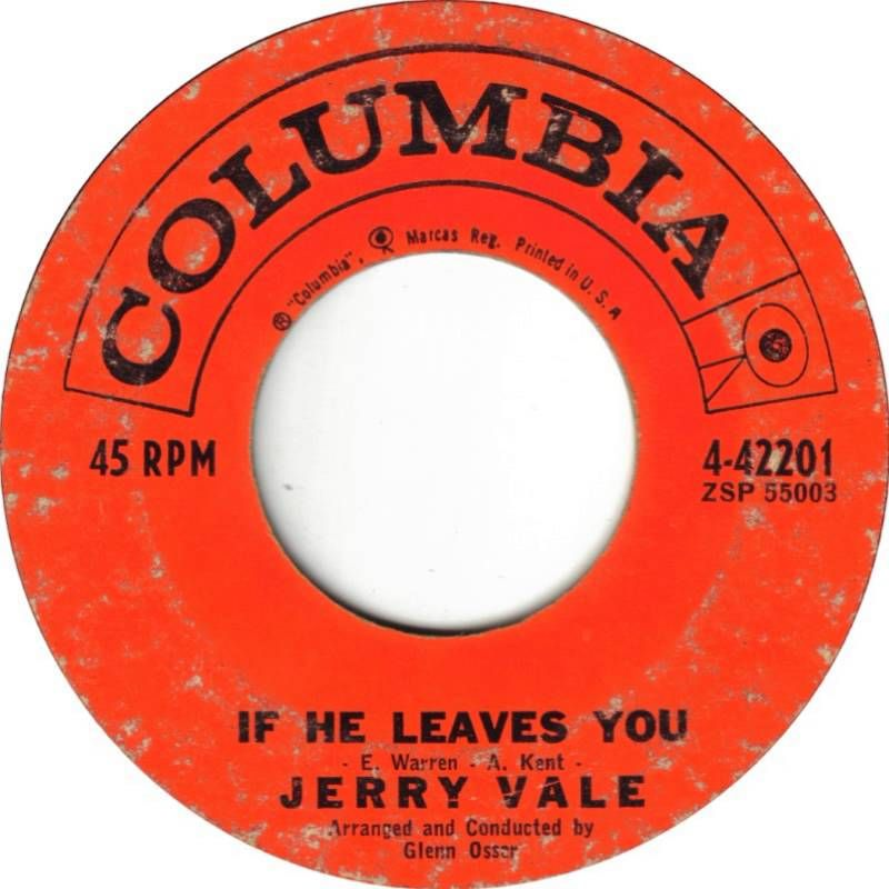 Jerry Vale - If he leaves you