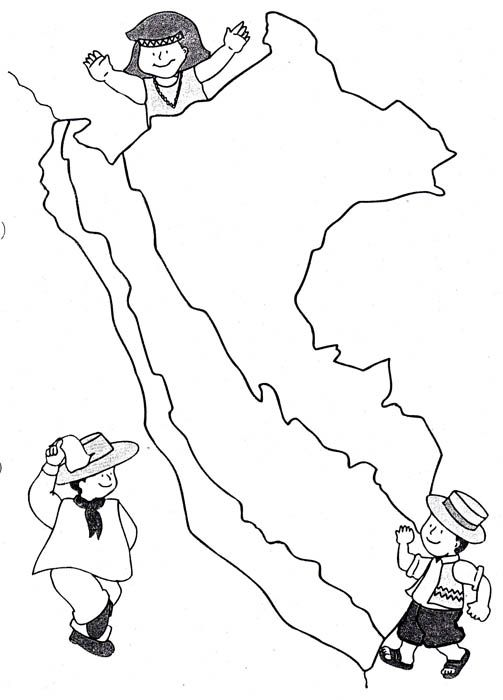 Bailes peruanos de la selva para colorear - Imagui | dibujos ...