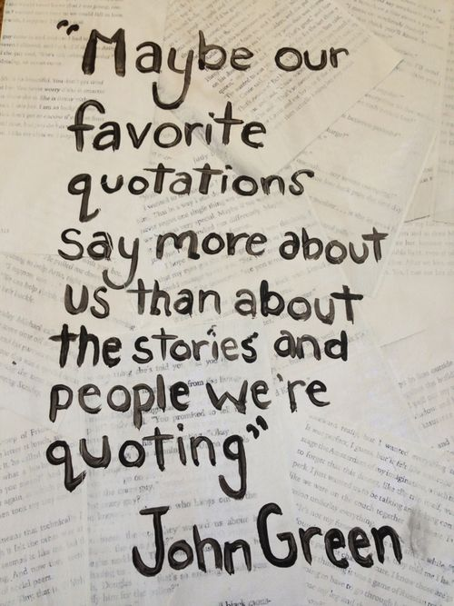 Fourth Street Review Favorite Quotations A Top Ten List Books Custom Favorite Quotation